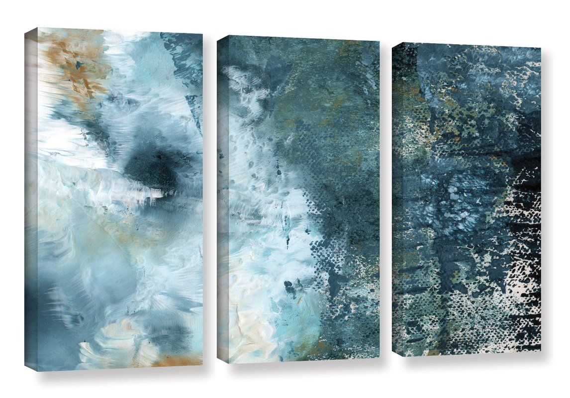 Summer Storm 3 Piece Graphic Art on Wrapped Canvas Set  bdc9c2ffab