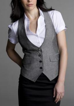 wear formal vest women