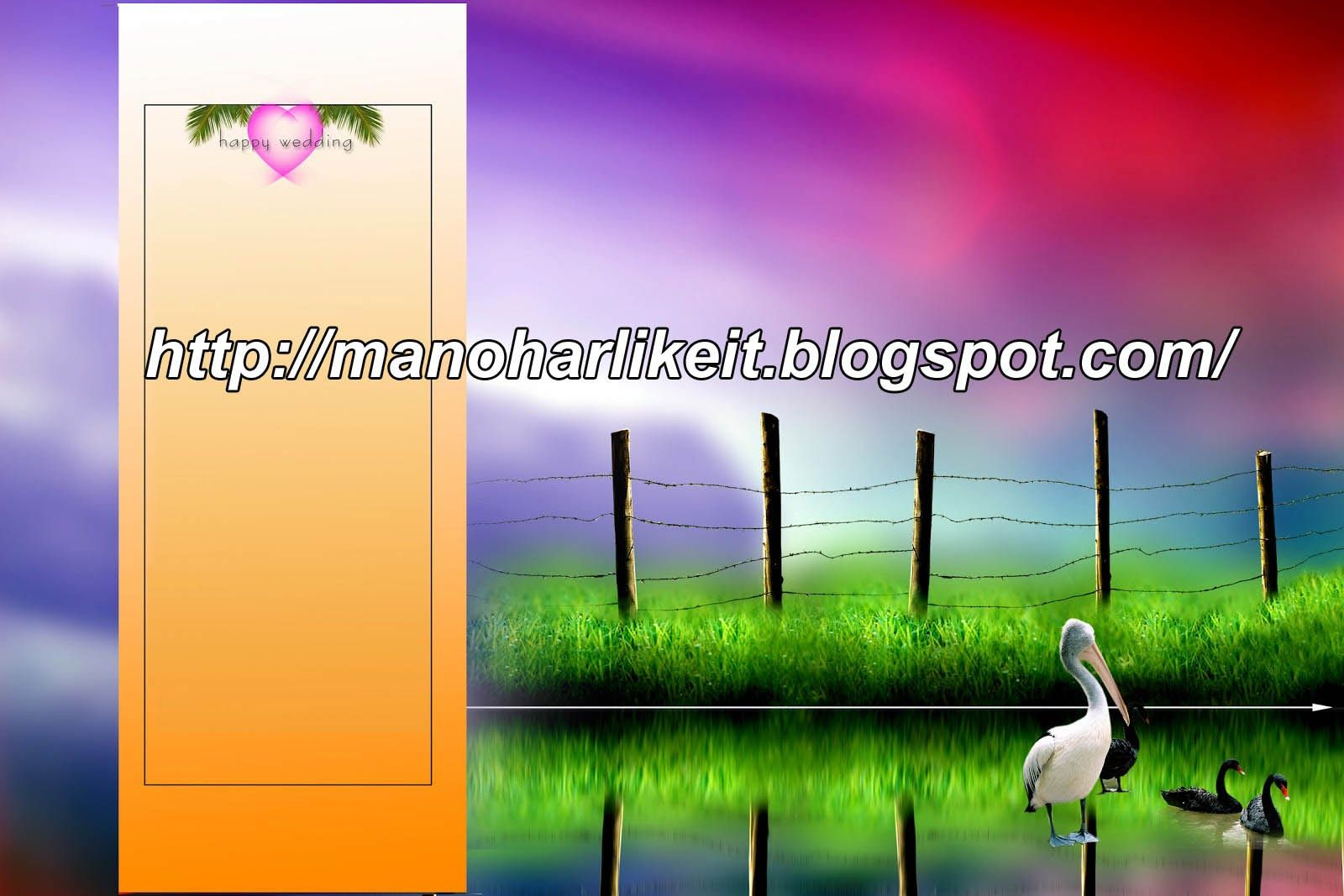Wedding Album Design Psd Files Free Download Wedding Album Design Album Design Marriage Photo Album