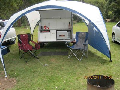 Looking for canopy for my teardrop trailer - NAXJA Forums ...