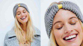 2cec509fabd8 Le bonnet facile a tricoter   Gilet   Crochet, Hair slide et Headbands
