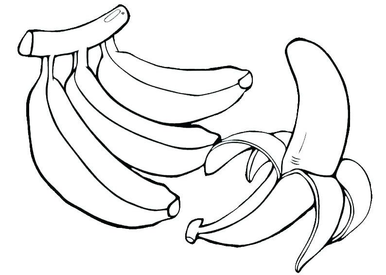 Banana Coloring Pages Best Coloring Pages For Kids Pumpkin Coloring Pages Fruit Coloring Pages Vegetable Coloring Pages