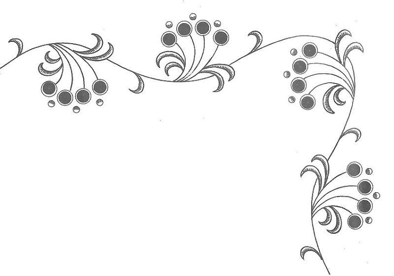Dibujos de flores para bordar Imagui bordados t Tul