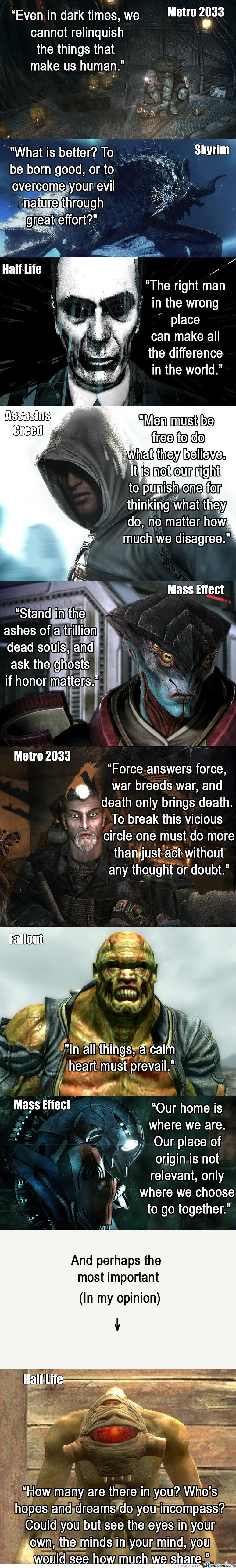 Pin By Darus Trutna On How I Did It Video Game Quotes Game Quotes Life