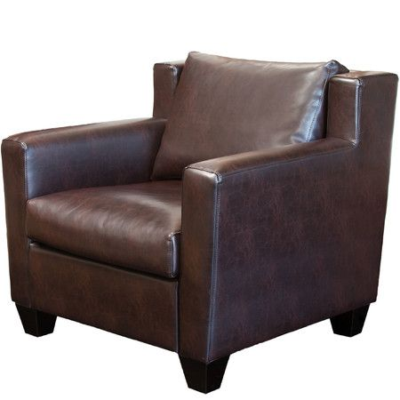 Found It At Wayfair   Leonard Leather Club Chair Http://www.wayfair