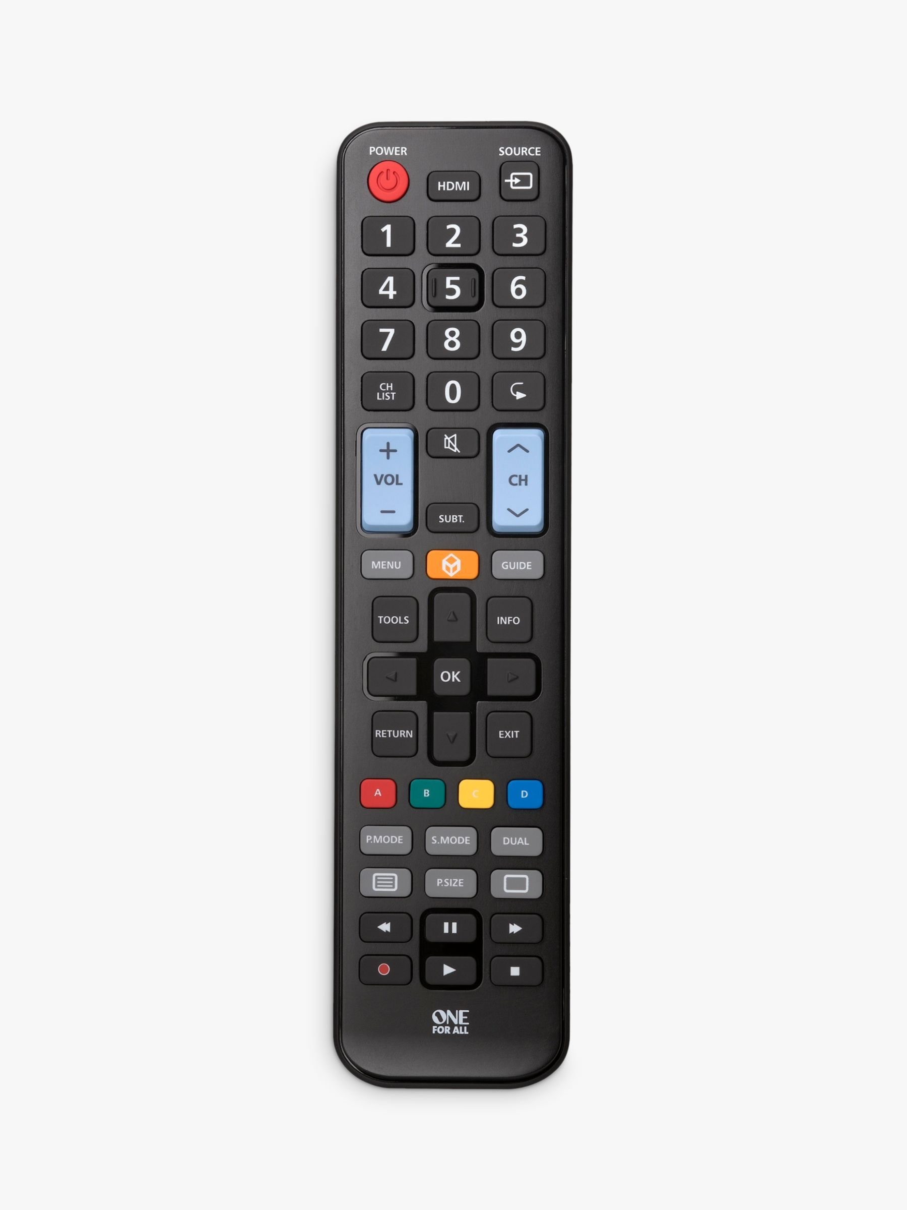 One for All Replacement Remote for Samsung Televisions in 2020