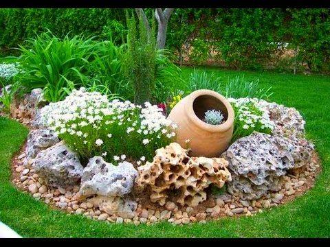 Video guida aiuola fol nde giardini in pietra naturale for Decorazioni giardino aiuole