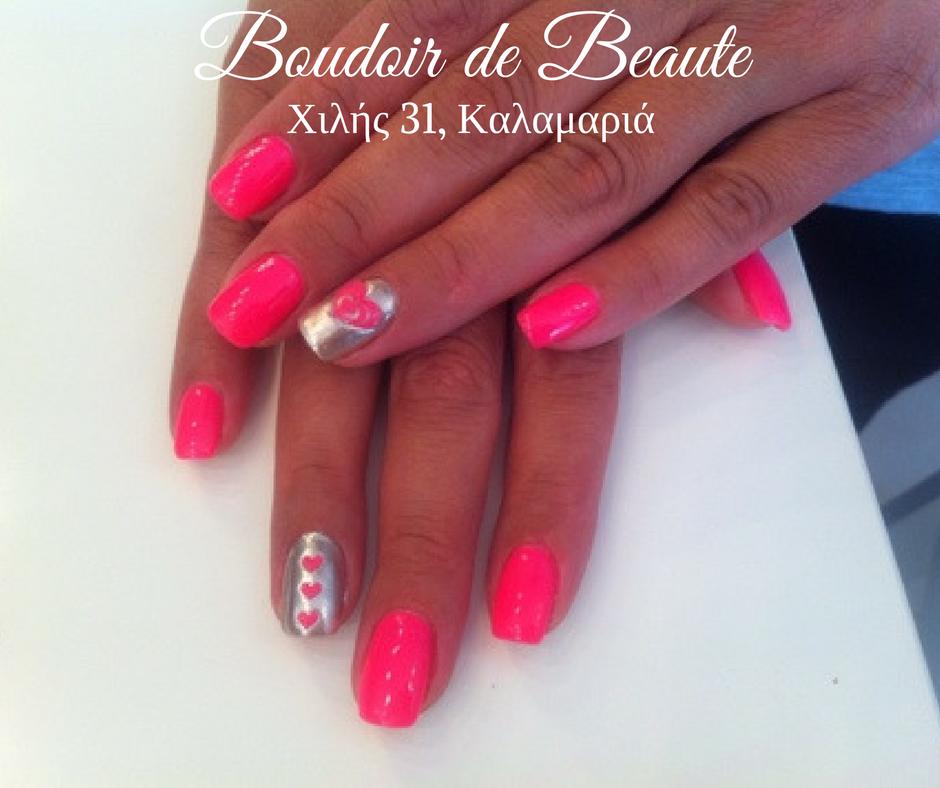 Love me tender! #nails #nailswag #nailsalon #kalamaria #skg #thessaloniki #beautysalon #beauty #naildesign #nailpolish #boudoirdebeaute #boudoir_de_beaute #manicure #nails_greece #nailsoftheday #nailporn #nailaddict #nailart #passion #love