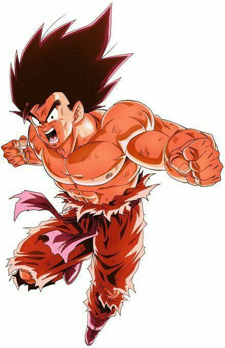 Goku - Kaioken | Dragon Ball | Dragon ball, Dragon ball z ...