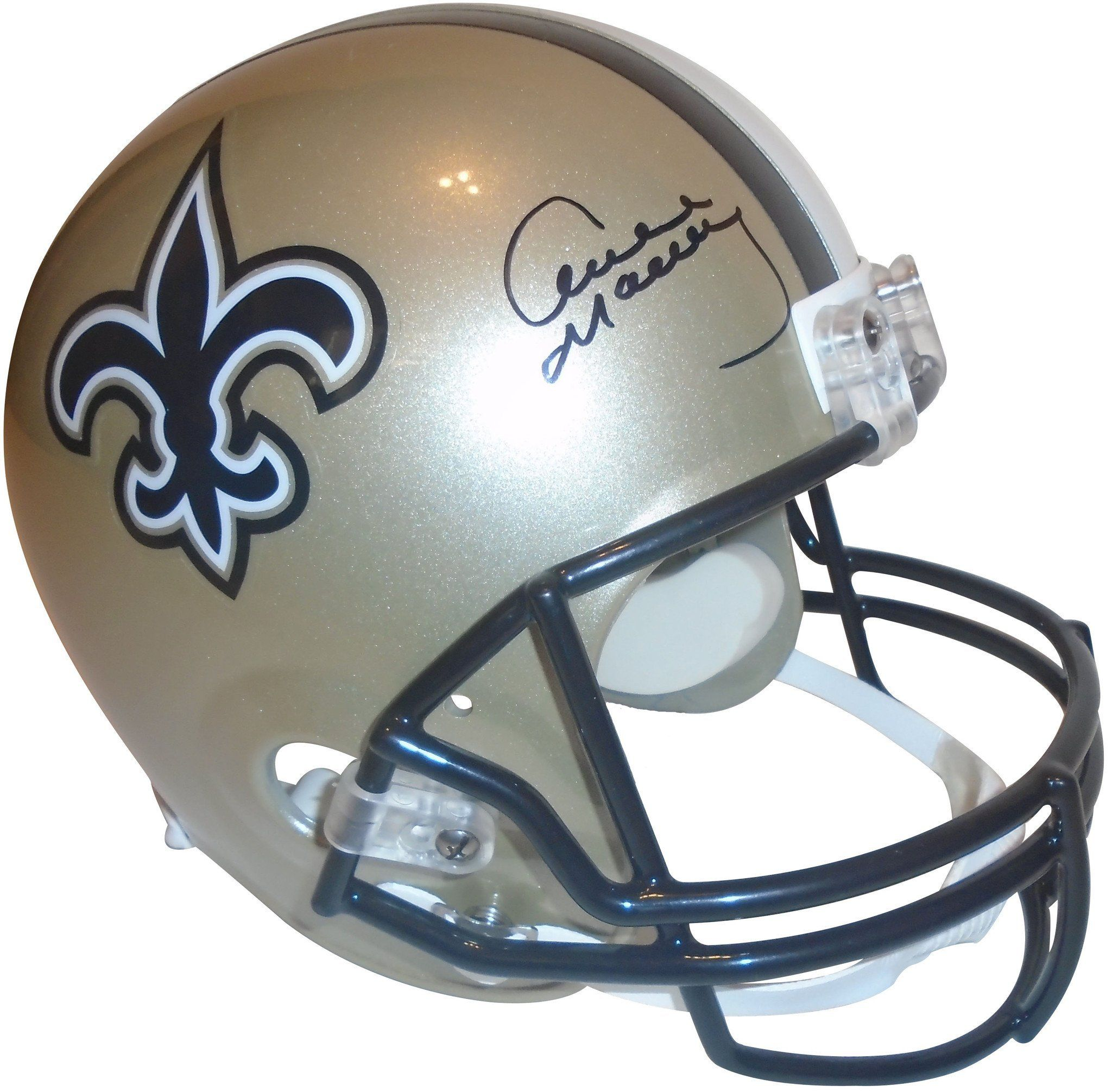 This is a brandnew Archie Manning signed New Orleans