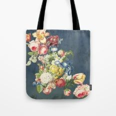 Floral Tribute to Louis McNeice Tote Bag