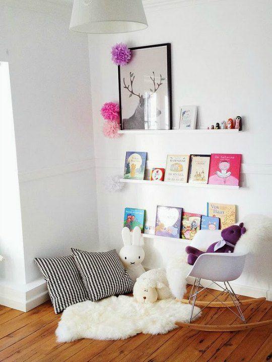Como crear un rincón de lectura Pinterest Ikea, Lectura y