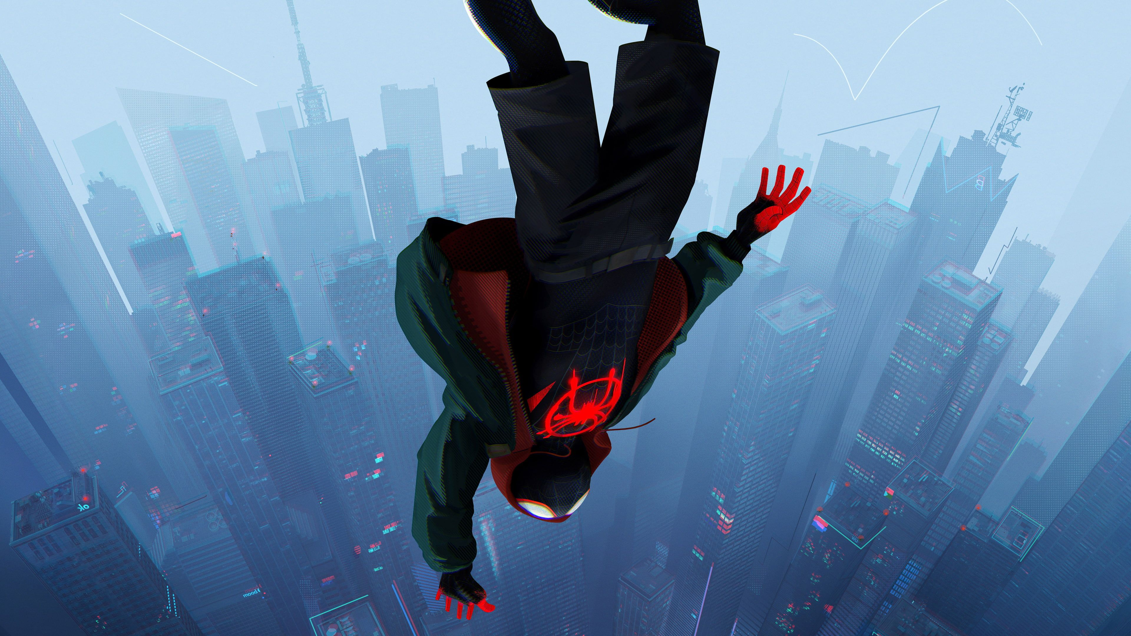 Into the Spider-Verse wallpaper, Spider-Man, Miles Morales, Marvel Comics • Wallpaper For You HD Wallpaper For Desktop & Mobile