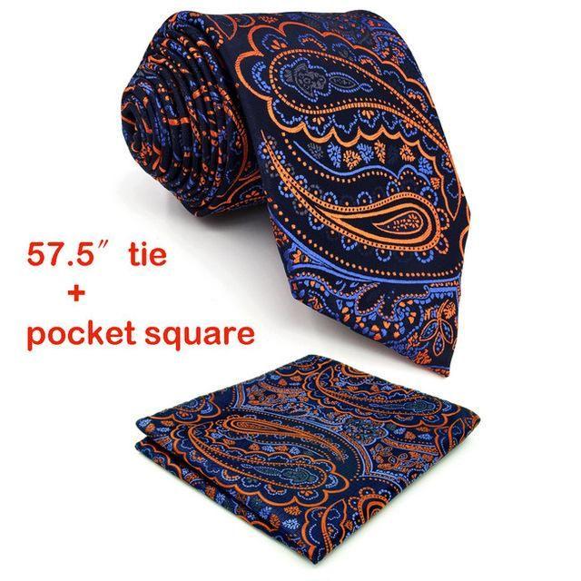 100/% Silk Gold Yellow Paisley Handkerchief Pocket Square Hankie Hanky Wedding