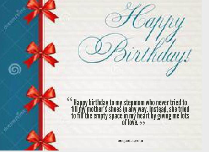 birthday quotes for stepmom | Mothers | Happy birthday quotes