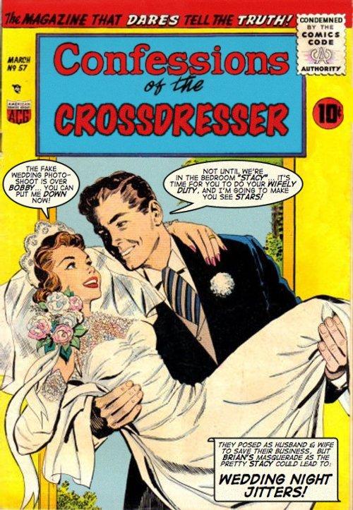 Transvestite comic books very valuable