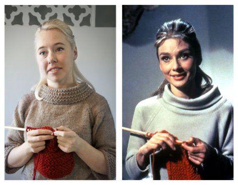Audrey Hepburn Sweater
