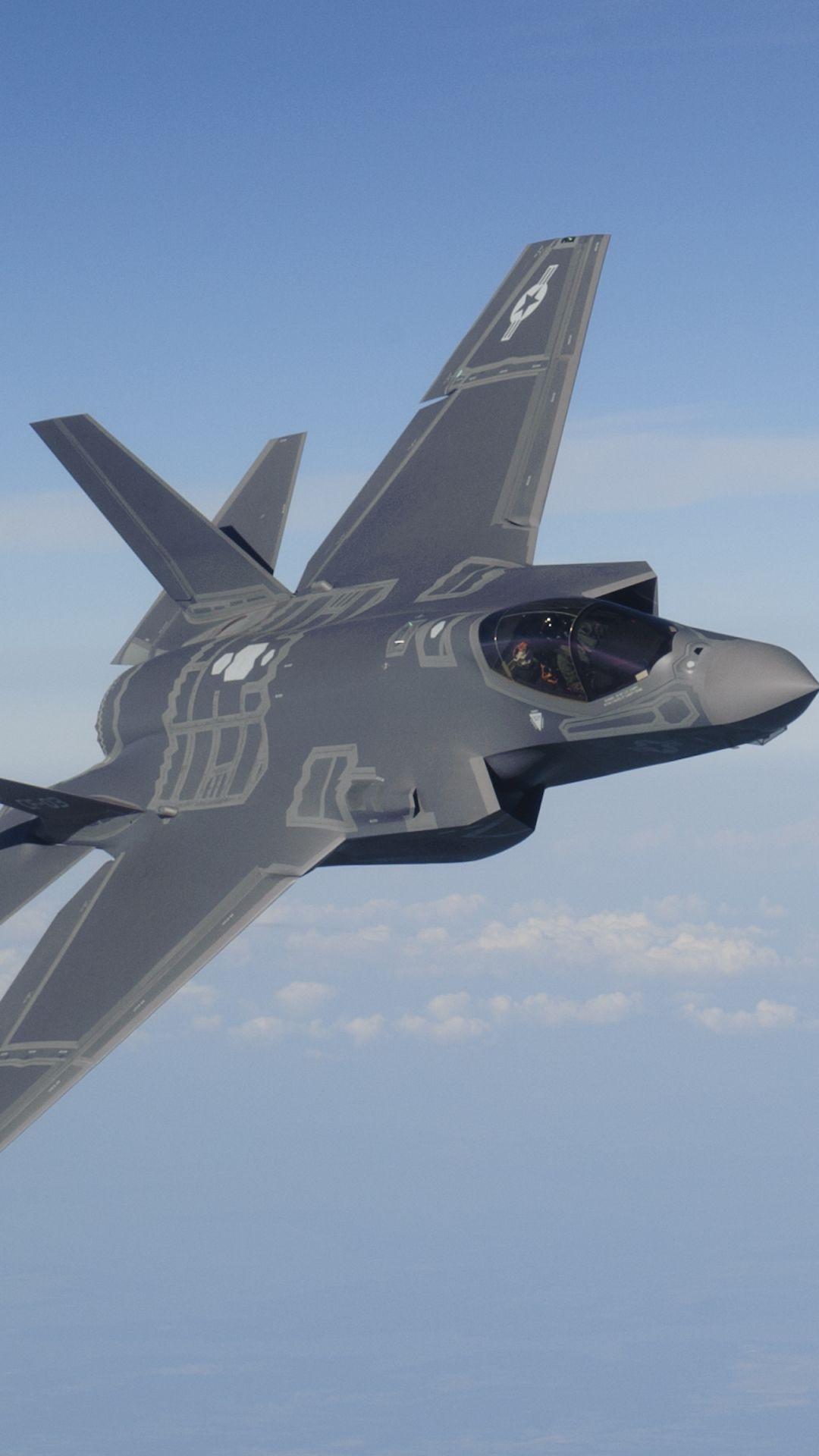 Military / Lockheed Martin F-35 Lightning II (1080x1920