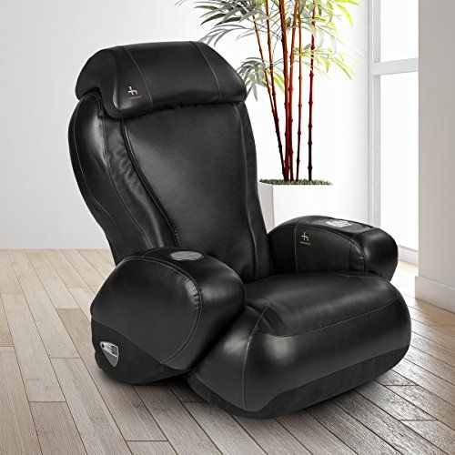 Ijoy2580 Premium Robotic Massage Chair Cup Holder Auxiliary Power Outlet Full Recline Ergonomic Black Continue To The Produ Massage Chair Massage Chair