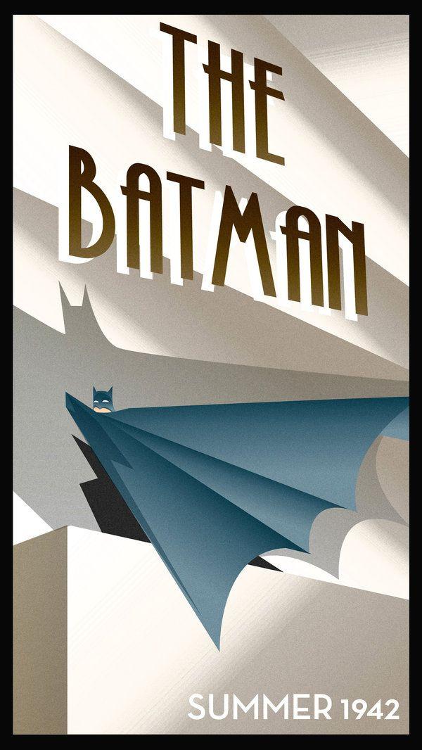 ART DECO BATMAN by ~rodolforever on deviantART