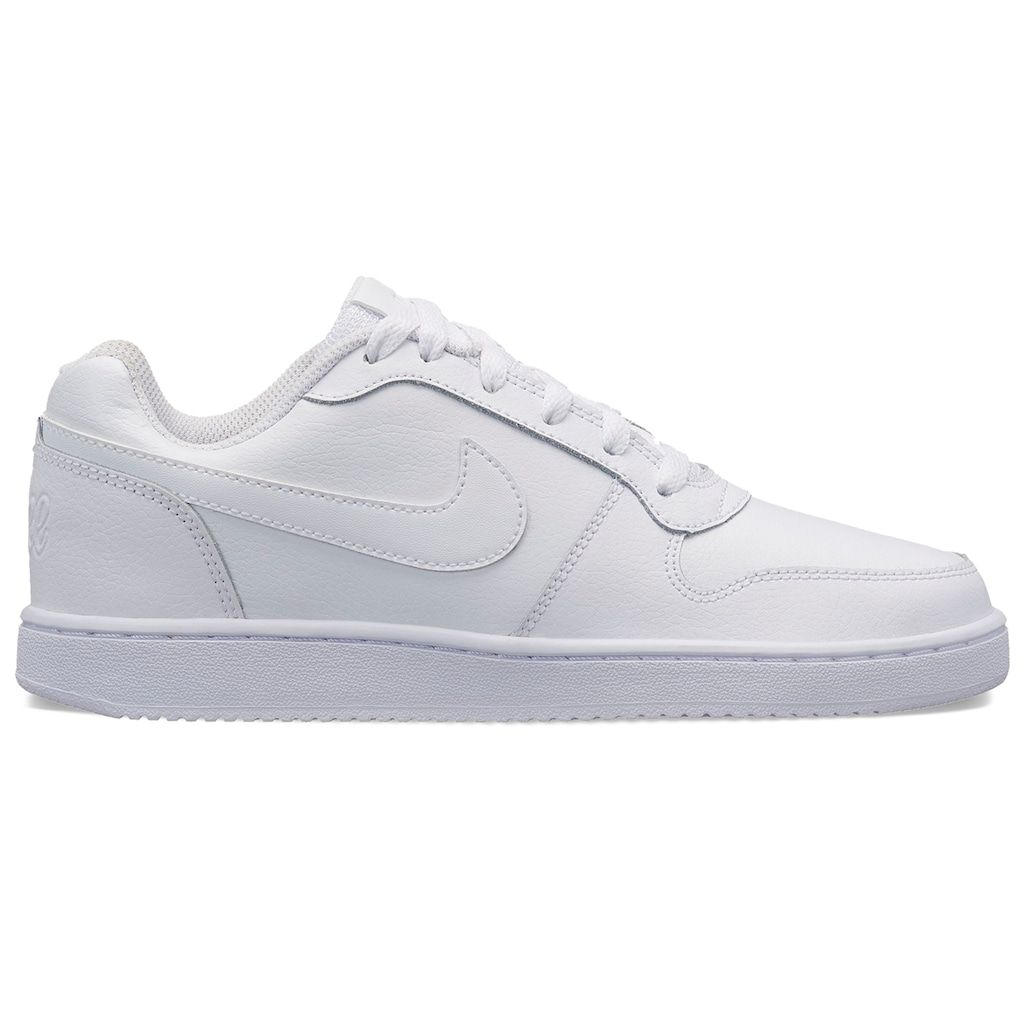 premium selection 9ec5a 4f761 Nike Ebernon Low Womens Sneakers, Size 5.5, White