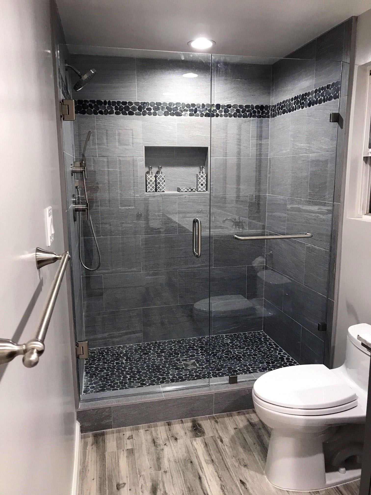 There Is Actually A Tiny Restroom Style Transformation And You Ll Passion These Rule Breaking Styles Bathroom Remodel Master Bathroom Remodel Shower Bathrooms Remodel