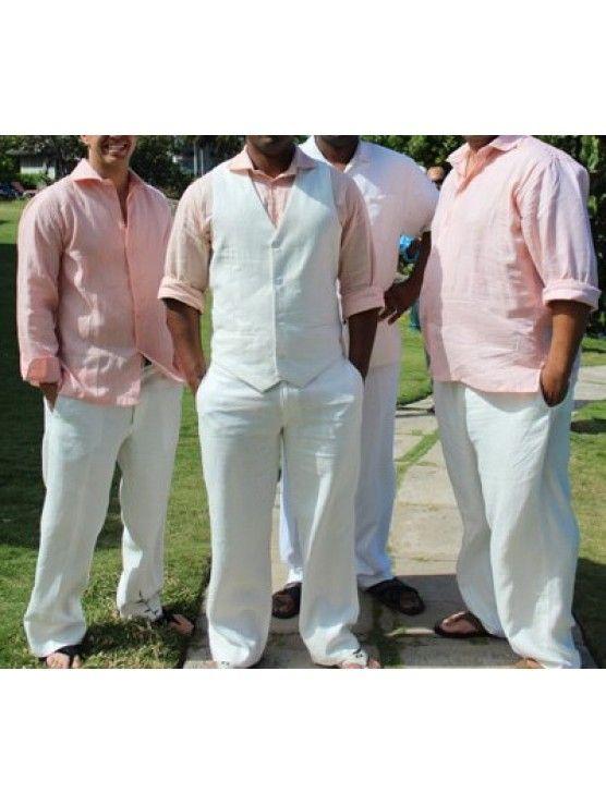 Custom Men Linen Wedding collection   Groom/Groomsmen Ideas ...
