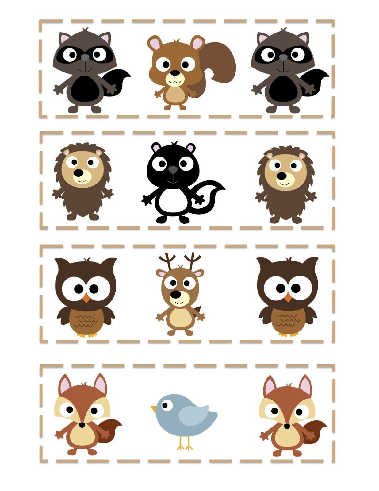 Imprimible | Para imprimir | Pinterest | Animales del bosque ...