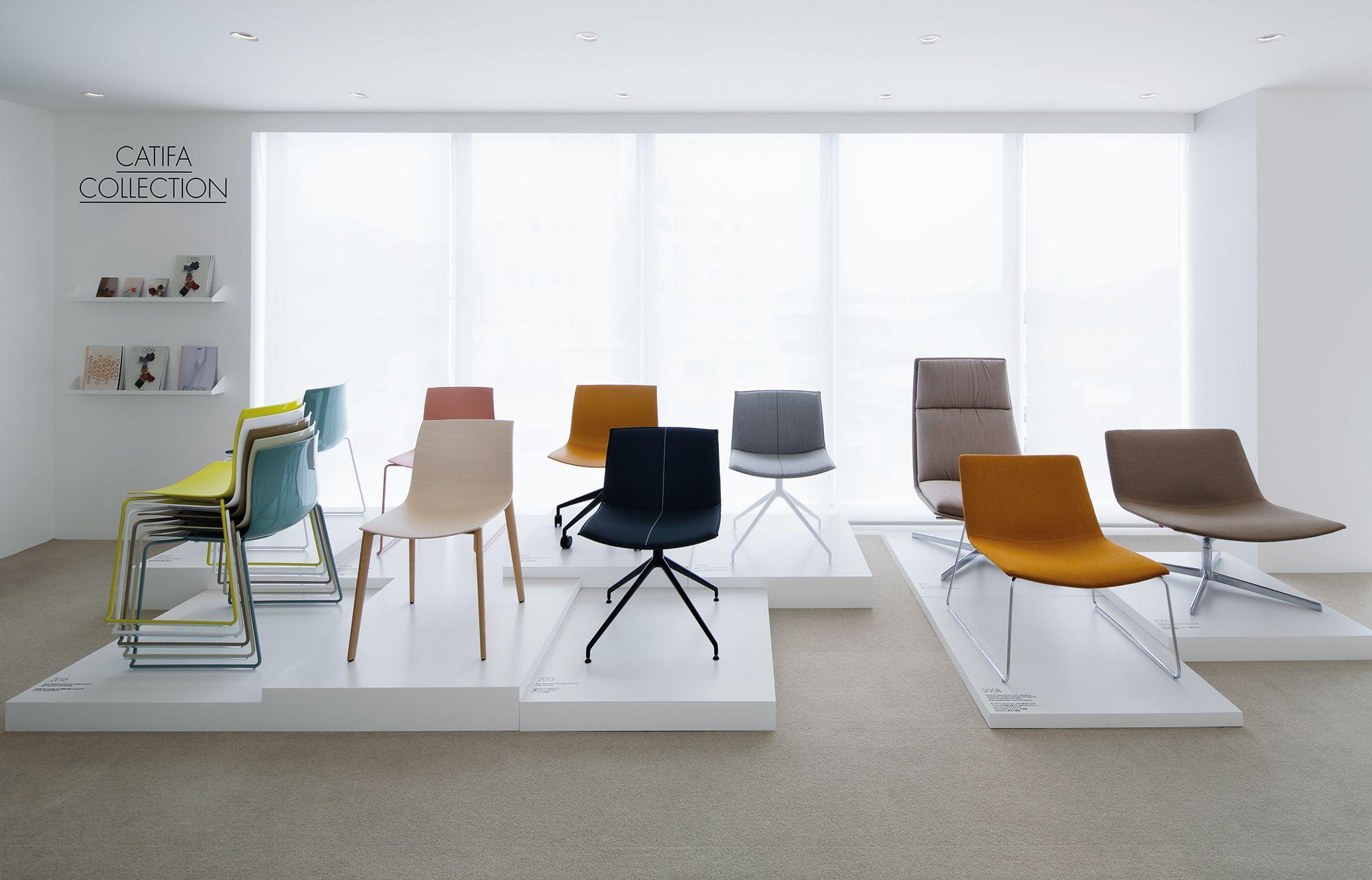 Interior Design Trade Furniture ~ Arper opens tokyo showroom design retail showrooms
