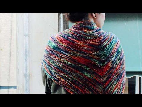 How To Knit A Warm Shawl / Scarf - DIY Crafts Tutorial ...