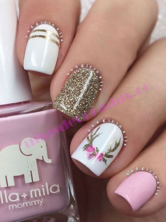 70 Fotos Tendencia En Uñas Decoradas Elegantes 2017 Nail Art