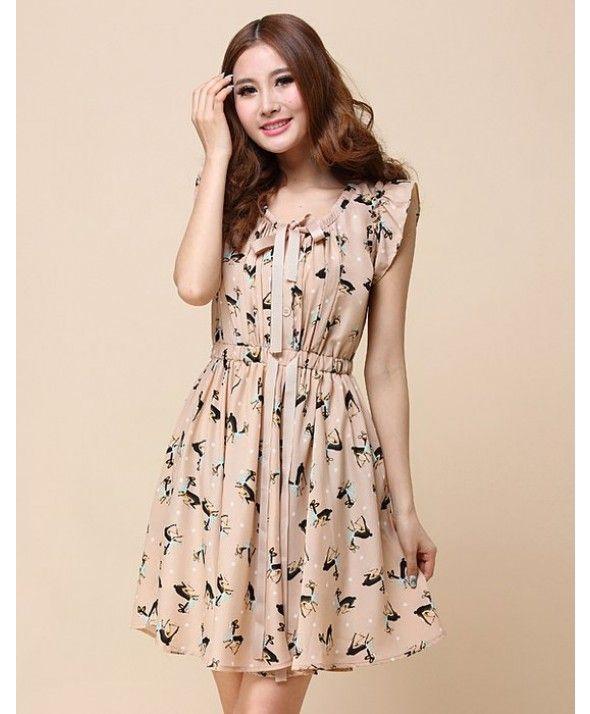 vestidos chiffon estampado - Buscar con Google  46dd519ef6a5
