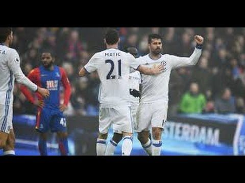 Crystal Palace Vs Manchester United 1 2 2016 All Goals Youtube Chelsea Crystal Palace Premiers Sons