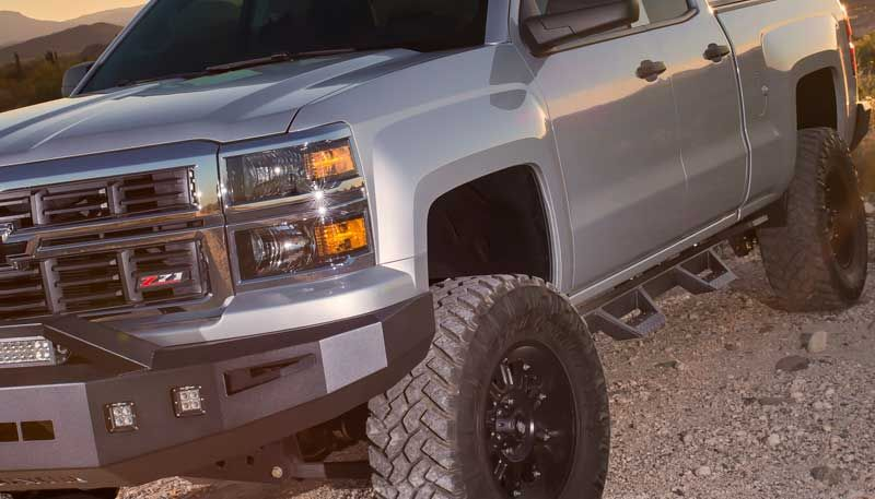 2015 Up Gmc Canyon Crew Cab Magnum Rt Step Bars 2015 Chevy