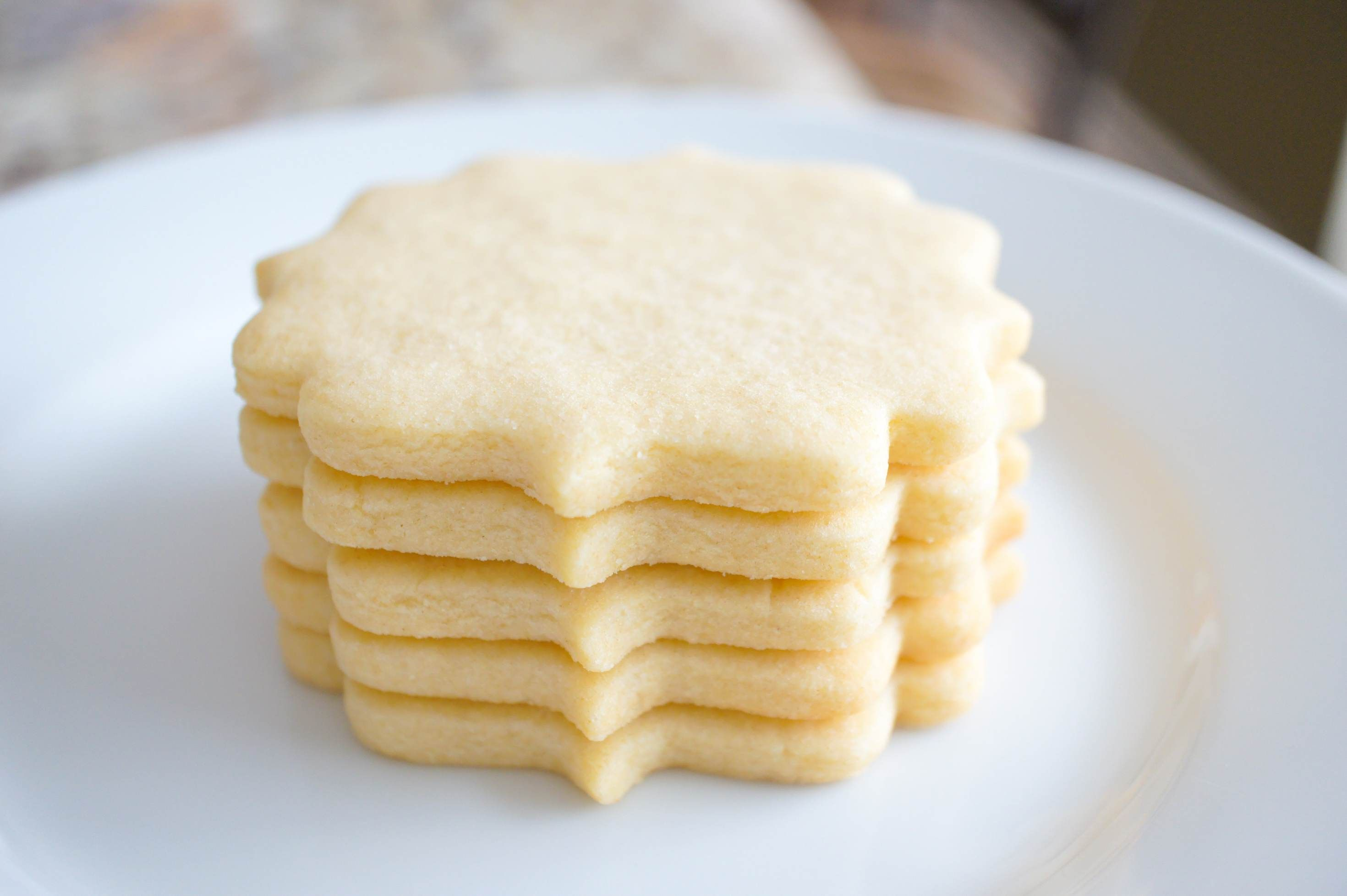 Perfect Sugar Cookie cut outs are soft, thick, sinfully buttery and taste amazing whether they are decorated or not! This is the best no-chill sugar cookie cut out recipe! These cookies are easy to make and great to decorate with royal icing. Make easy sugar cookie cut outs that keep their shape & edges. #Bestsugarcookierecipe #Cookierecipes #Easycookierecipes #Softsugarcookies #decoratedcookies #sugarcookies #nochillcookies