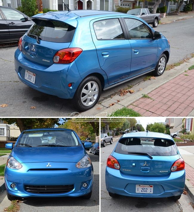 2015 mitsubishi mirage review compact sedan es