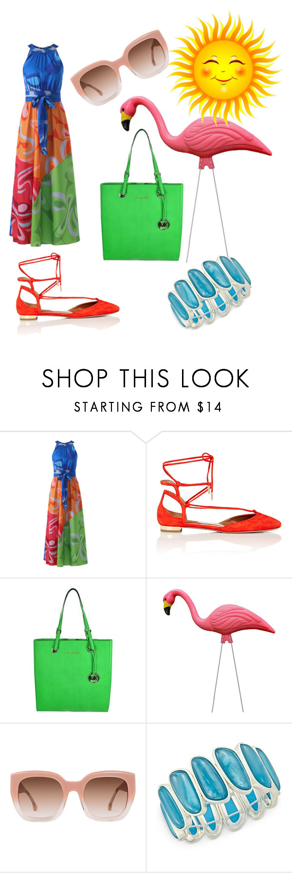 """""""#1"""" by monika2406 ❤ liked on Polyvore featuring Aquazzura, MICHAEL Michael Kors, Alice + Olivia and Charter Club"""