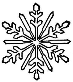 christmas decorations clipart black and white google search rh pinterest co uk White Snowflake Clip Art No Background White Snowflake Background