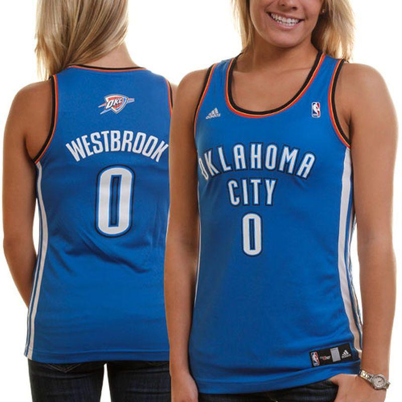 low priced 0de58 48cc2 adidas Russell Westbrook Oklahoma City Thunder Women's ...