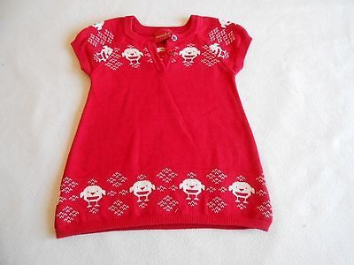 baby girls clothes 0 3 months christmas red jumper dress