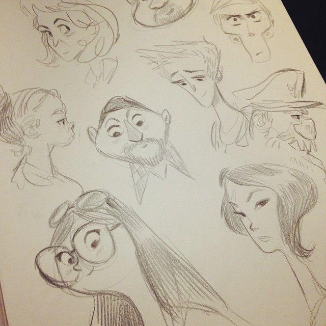 Instagram Post by Bill Robinson (@flimflammery) | Sketch drawing ...