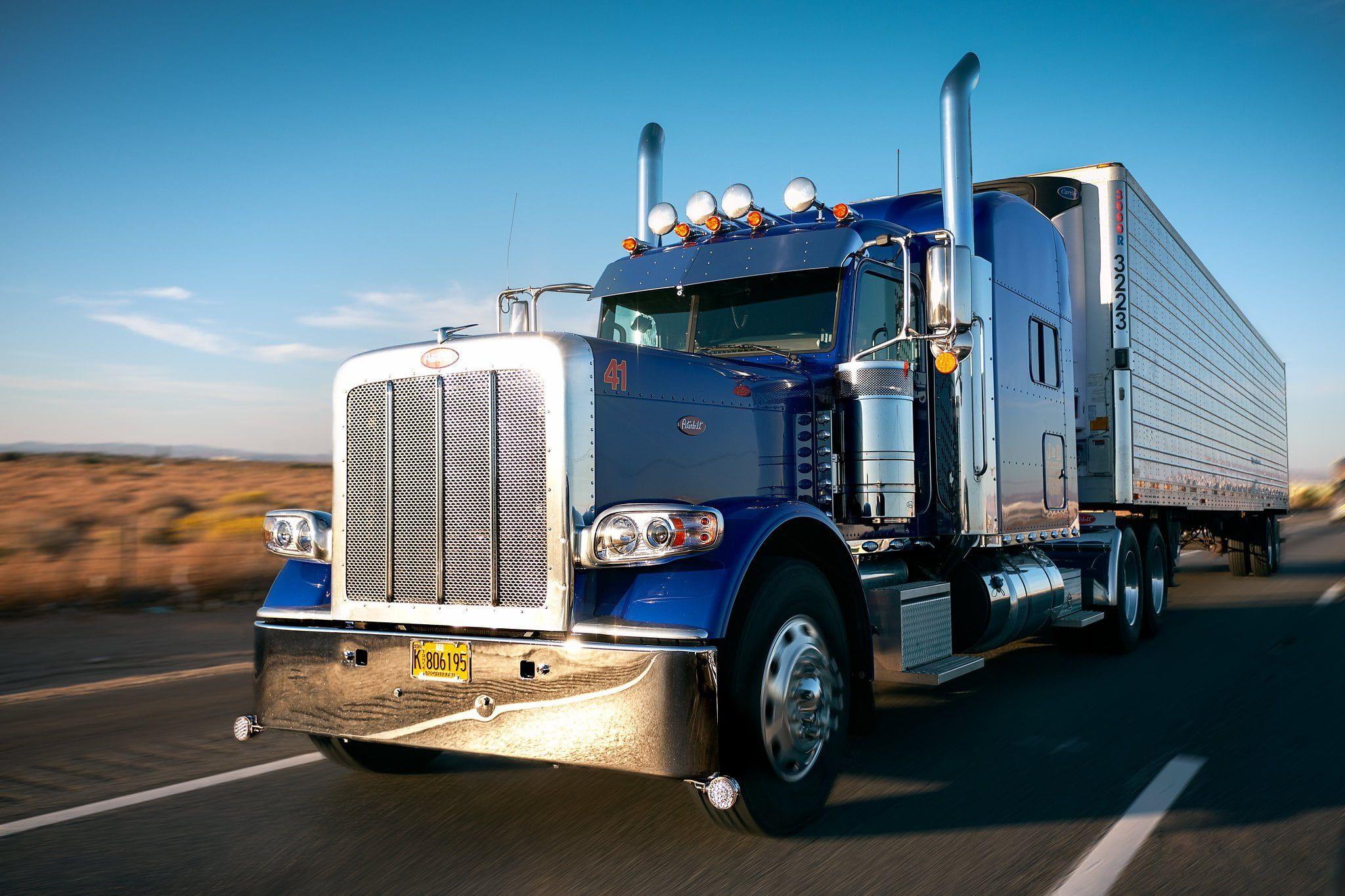 Vehicles Peterbilt Truck Vehicle 1080p Wallpaper Hdwallpaper Desktop In 2020 Trucks Super Cars New Cars