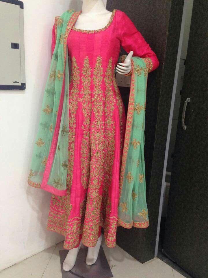 Beautiful color combination punjabi suit   Beautiful color ...
