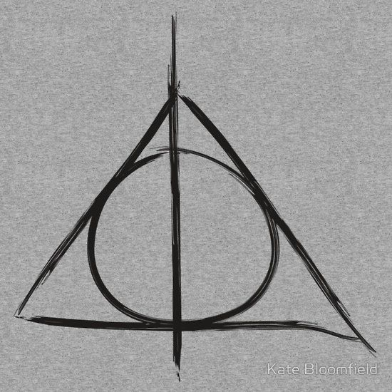 Harry Potter And The Deathly Hallows Symbol