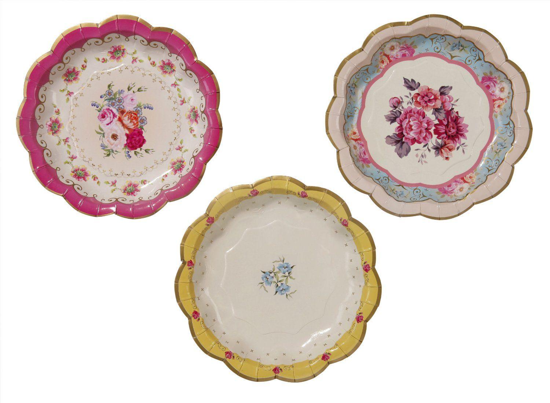 Amazon.com | Talking Tables Truly Scrumptious Dessert/Cake Tea Party Plates Dinner  sc 1 st  Pinterest & Amazon.com | Talking Tables Truly Scrumptious Dessert/Cake Tea Party ...