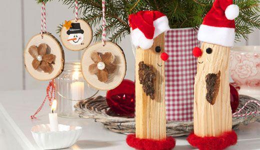 tischdeko f r weihnachten selber machen basar. Black Bedroom Furniture Sets. Home Design Ideas