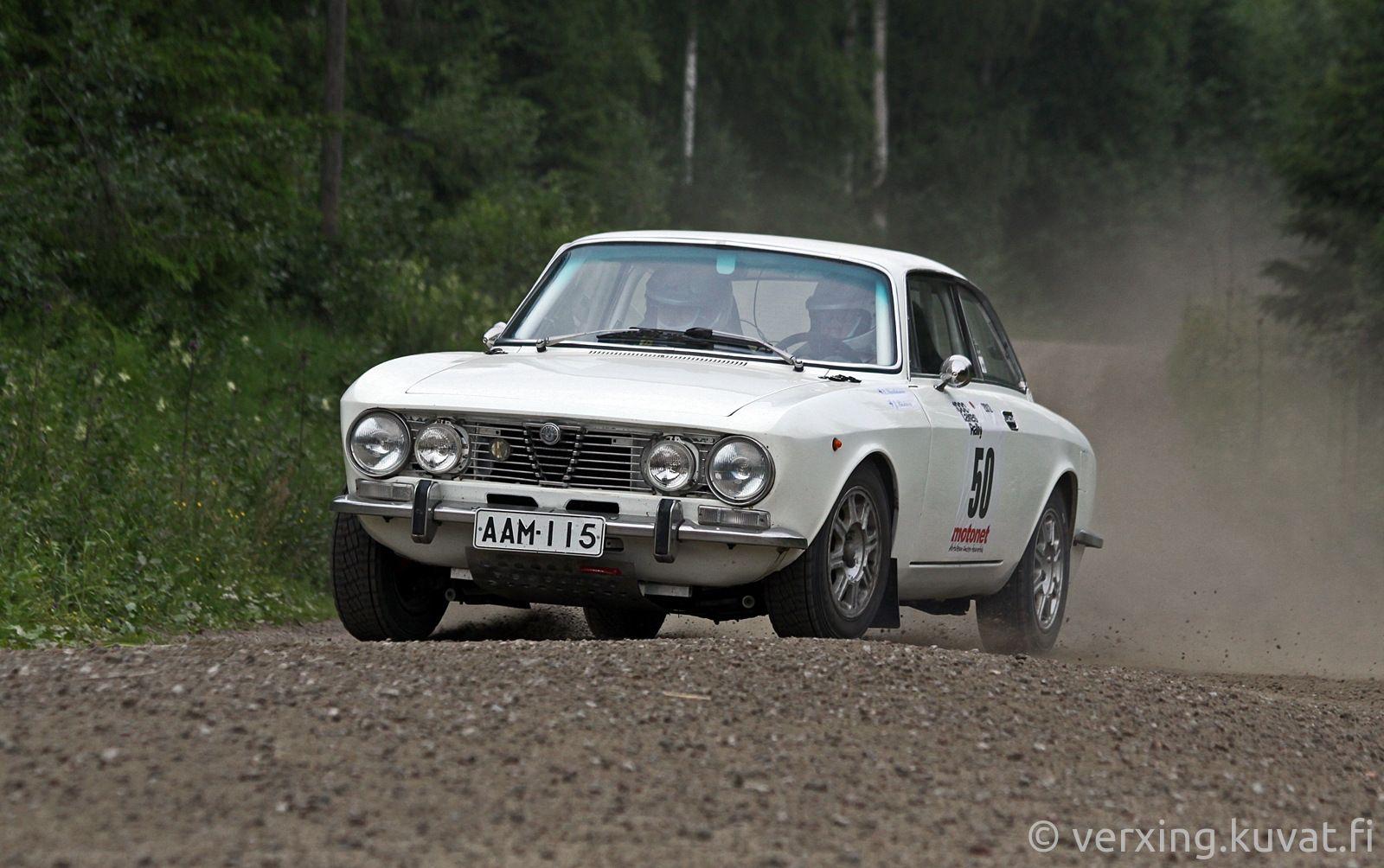 50 Esko Savolainen - Juha Räsänen , Alfa 2000 GTV