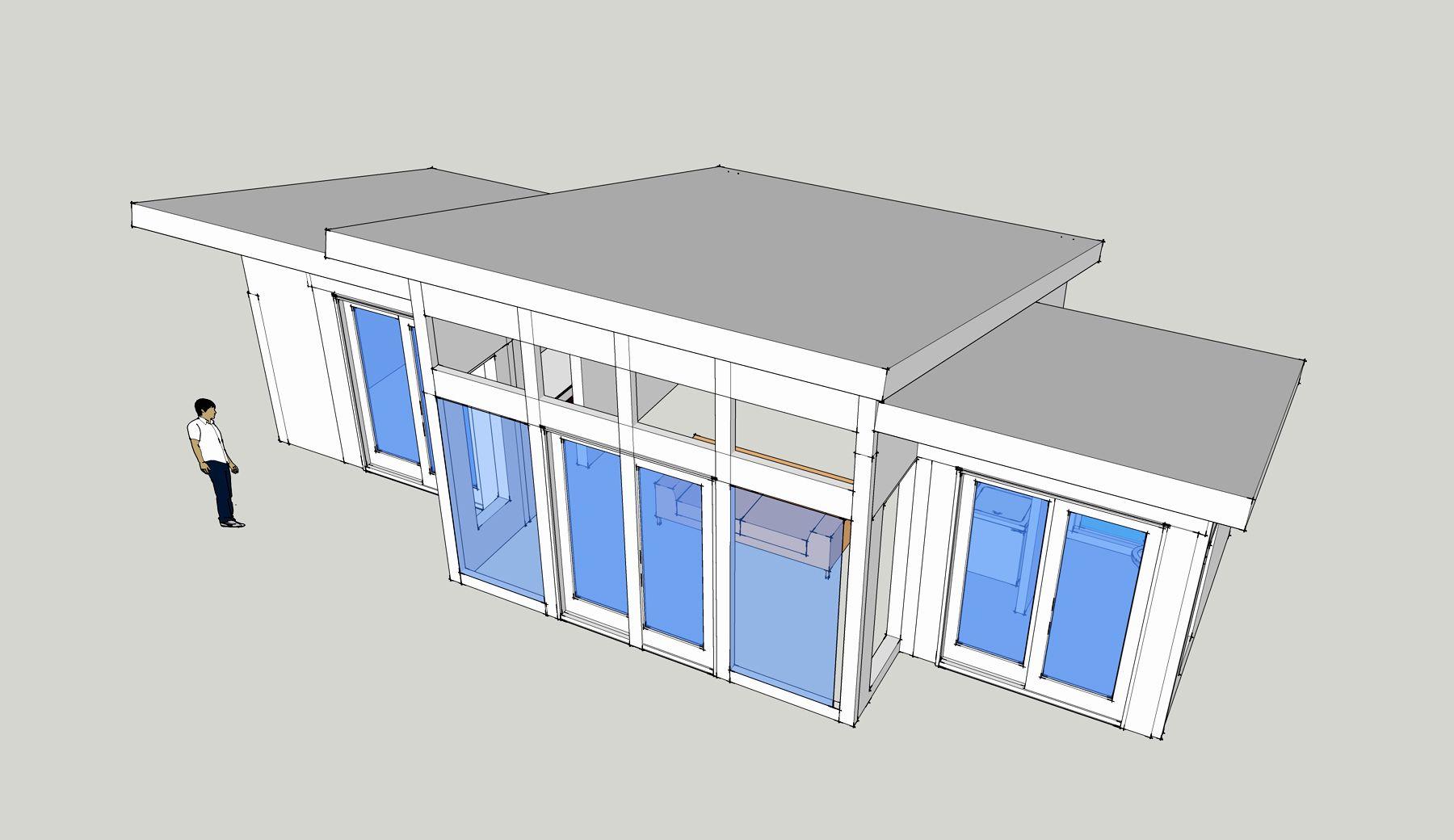 Single slope roof house plans strikingly design open kitchen floor plans for restaurants 11 17