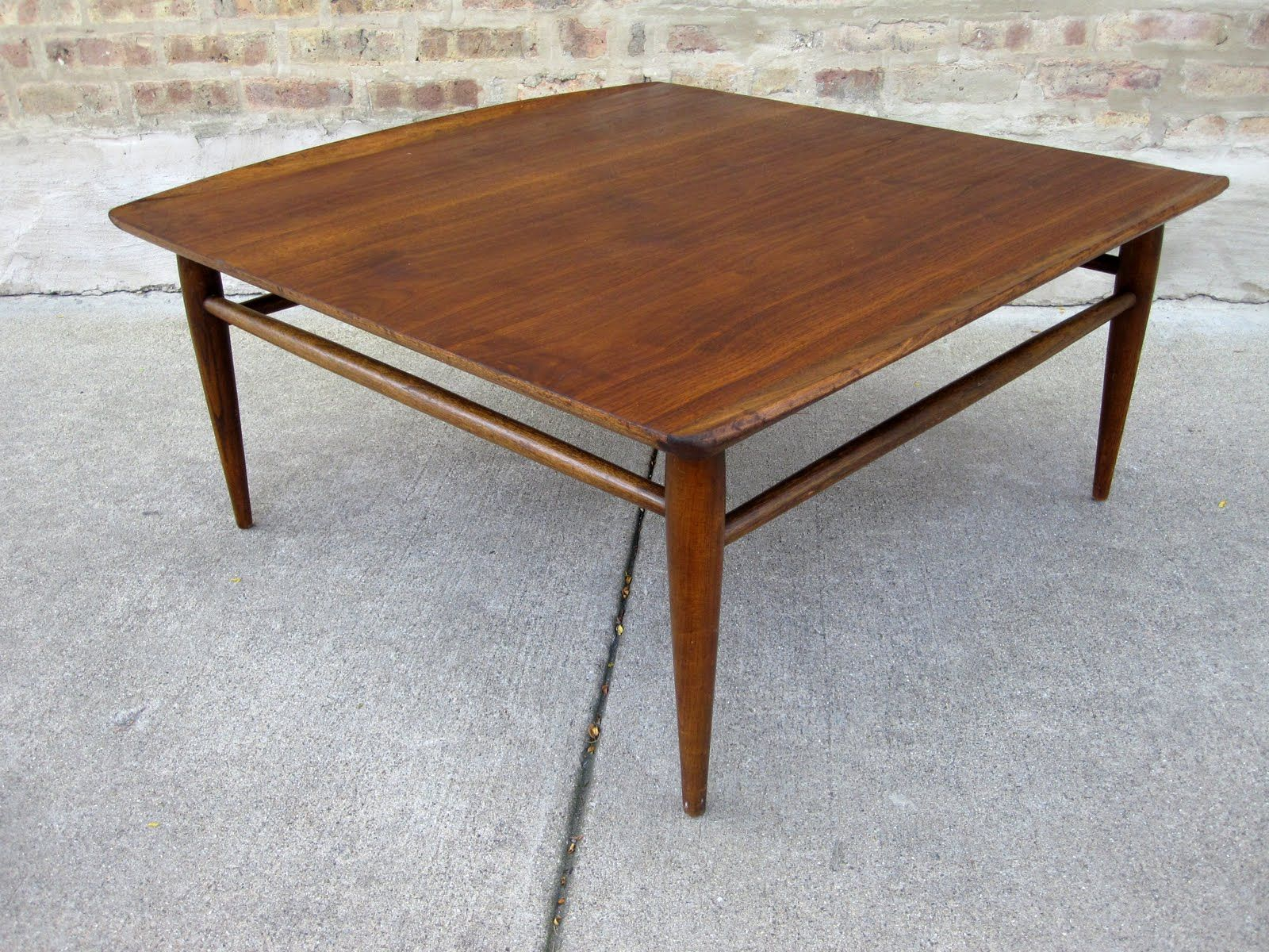 Square drexel coffee table mid century mania pinterest square drexel coffee table geotapseo Image collections
