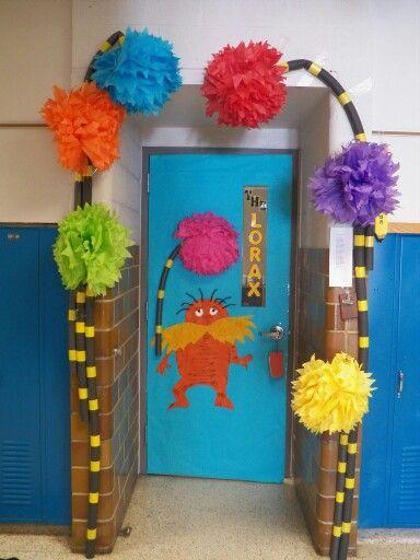 The Lorax door decorating idea | Dr. Suess | Pinterest ...